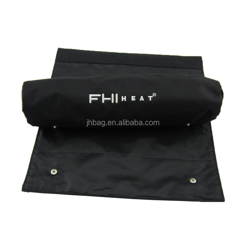 roll up brush cosmetic bag