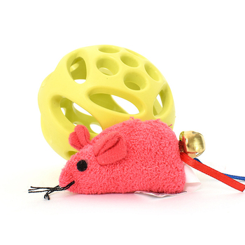 Wholesale Great Price Smart Rubber Pet Product Cat Toys Ball with Sound