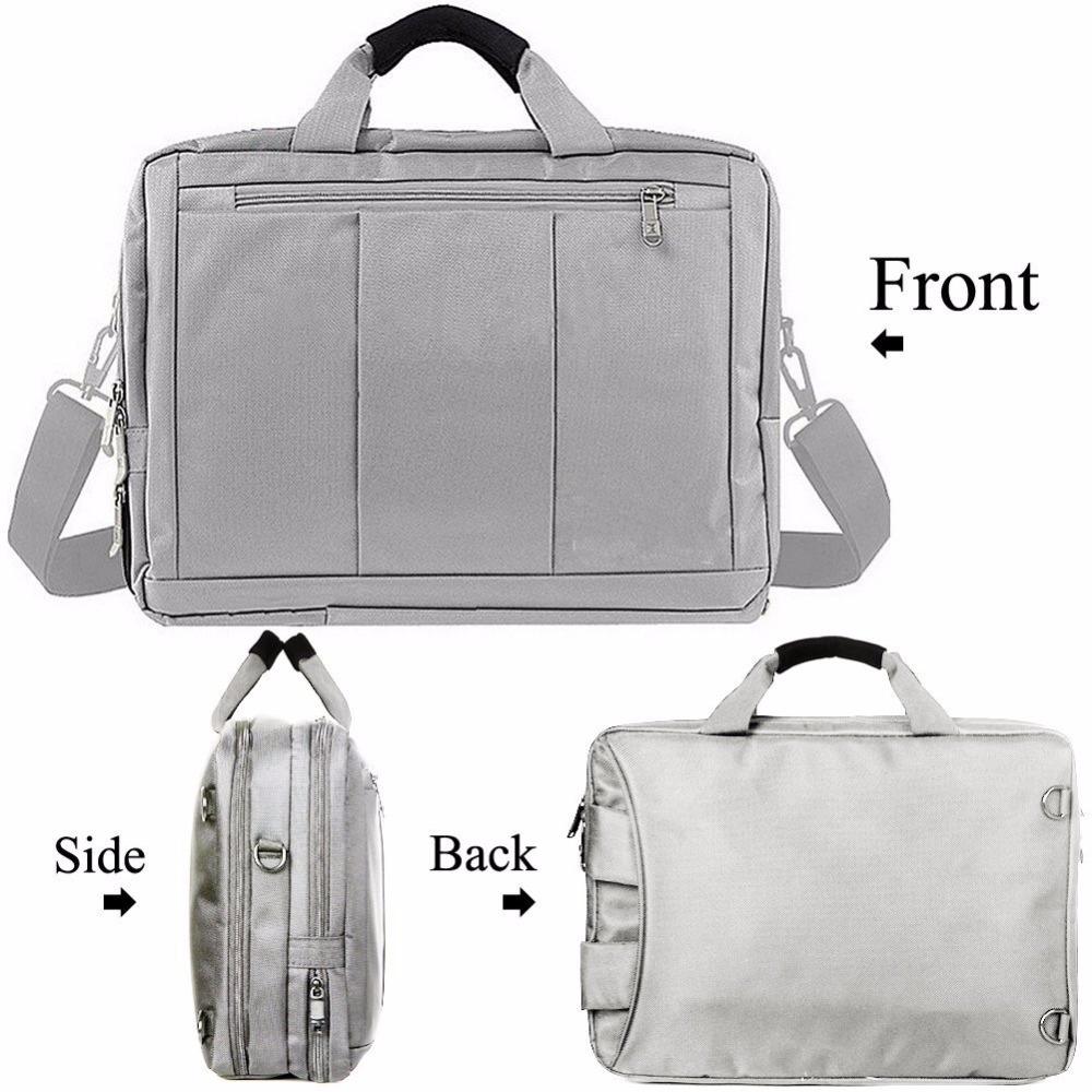 Convenient carry zipper high quality durable laptop backpack case