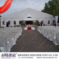 Shoulder High quality fashionable outdoor party tent for Chrismas Celebration and Wedding
