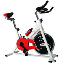Indoor Cycling Spin Bike Home Use Fitness Spinning Bike SB465 with Solid Steel and Duty Flywheel Home Gym Equipment