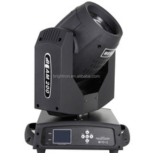 Wholesale pro stage light DMX512 sharpy 5r 200w beam 200 moving head
