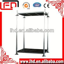 4-way entry stainless metal mesh pallet Stacking Frame