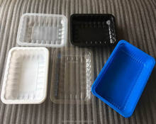Food Use and PP Material Vacuum Formed Plastic Disposable Frozen Food Tray