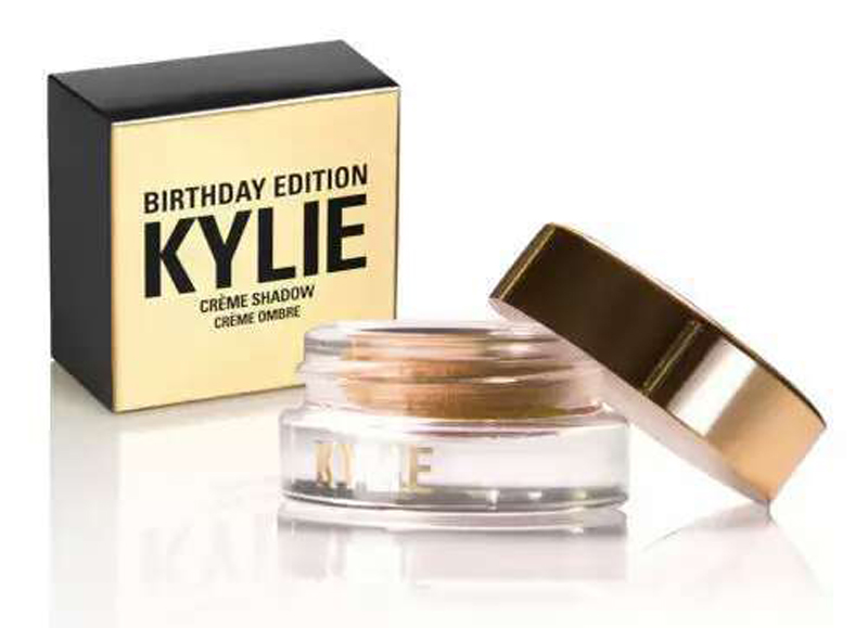 Kylie Jenner Birthday Editon Cosmetics Creme Eye Shadow Copper + Rose Gold Creme OMBRE kylie jenner liquid