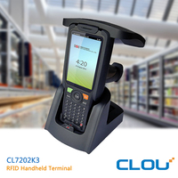 Long range uhf hand held reader with CE FCC certificates