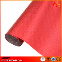 Fashion decorative Vinyl Car Wrap 3D Carbon Fiber