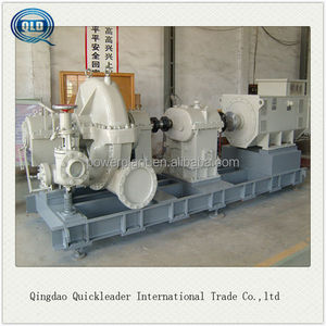 1mw back pressure type Low pressure small steam turbine