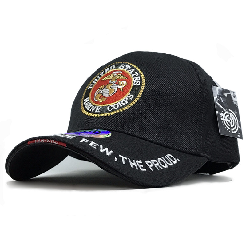 US Army Marines Caps Mens Cap Snapback Tactical Baseball Caps Strap back Mountaineer Travel Hat Bone Aba