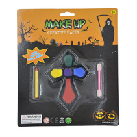 Professional Stage Face Paint / Water Make-Up 3 Colour Palette for christmas