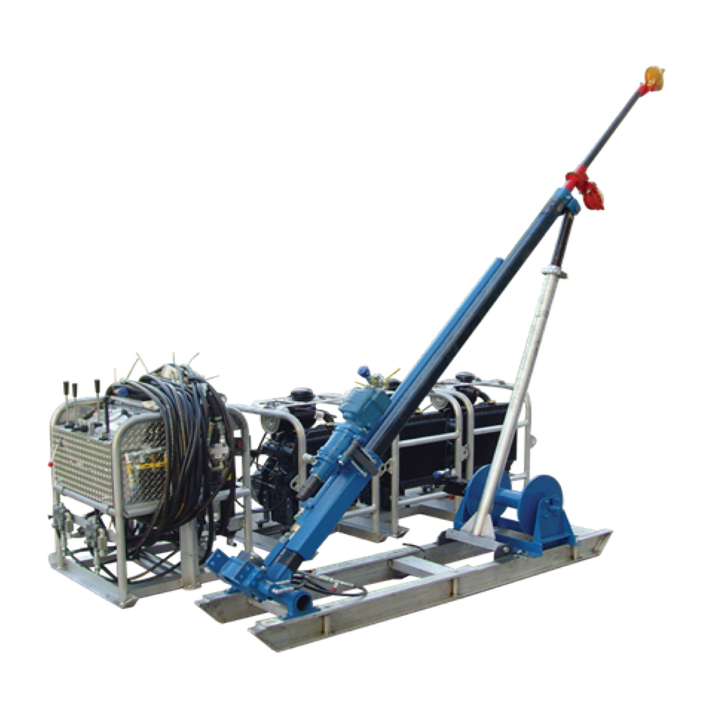 High Efficient Drill Pipetype Option Portable Core Drilling Machine