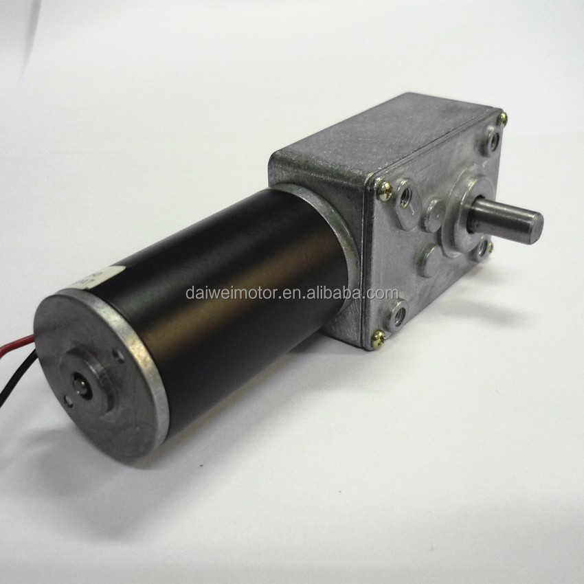 Factory Supply DC 24V 12V Worm Gear <strong>Motor</strong> DW634JSX-31ZY