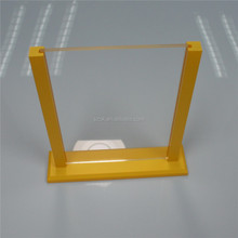 Table top A4 size acryllic insert paper sign holder