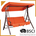 3 person seat swing /outdoor swing chair / adult hanging chair / indoor swing chair / free stand swing