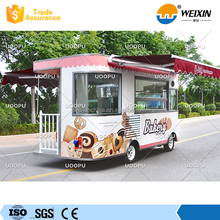 Electric Mobile Fast Food Carts for Sale