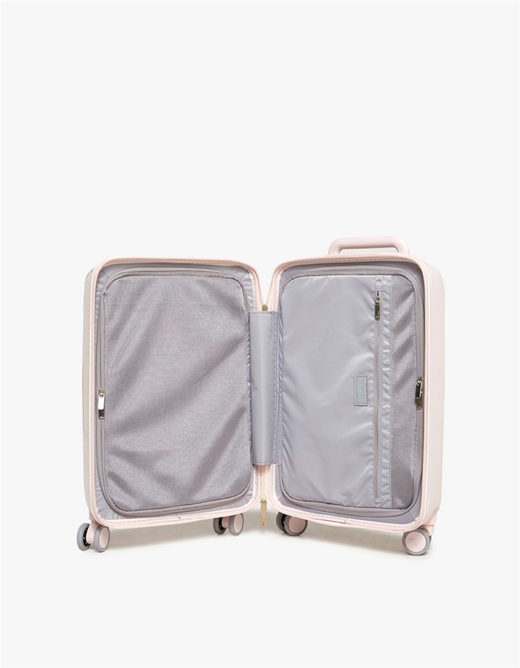 Carry-on Lightweight Expandable Rolling Spinner Luggage Suitcase