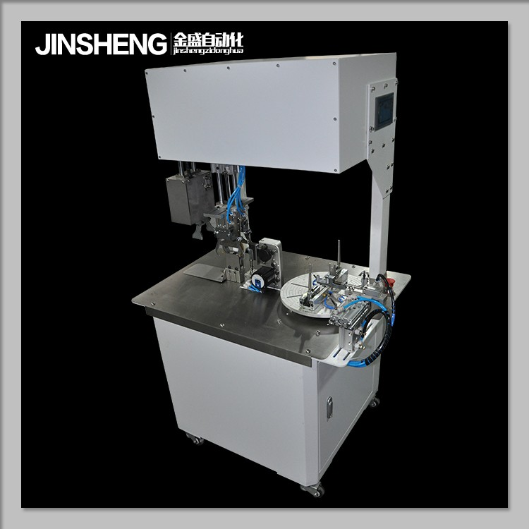 cable winding equipment / Automatic wire coiling winding / twisting / binding / tie machine