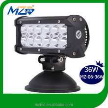 36W SHOCK price hot sale in USA led light bar auto parts for toyota fortuner