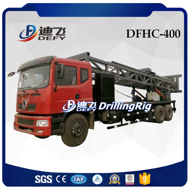 DFHC-400 truck mounted water well drilling rigs for sale