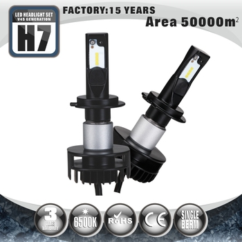 Professional Auto Motorcycles Brightest H7 Bulb H4 H13 5202 H7 Led Headlight Kit