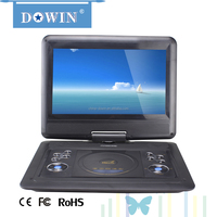 "Shenzhen Factory 11.6 ""screen cheap Portable DVD Player with HD input manufacture wholesale OEM nice quality USB TV GAME SD FM"
