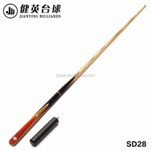 Solid wood hand carved 2017 high quality snooker cue master cue
