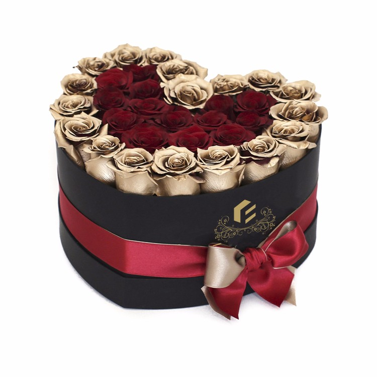 Velvet round hat boxes cylinder paper core box for flower boxes gift