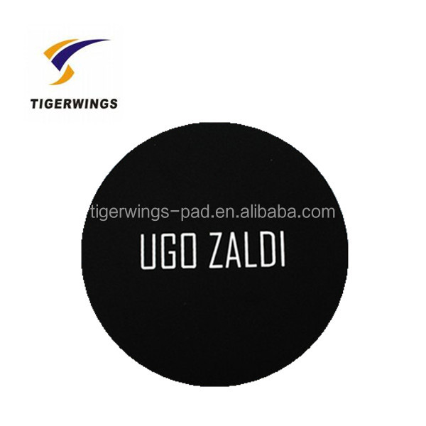 Tigerwings high quality plastic photo wholesale rubber coaster