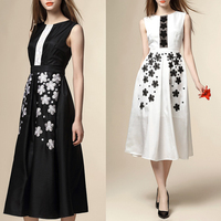 2017 OEM High Quality Dress Women Clothes Ladies Evening Maxi Dresses
