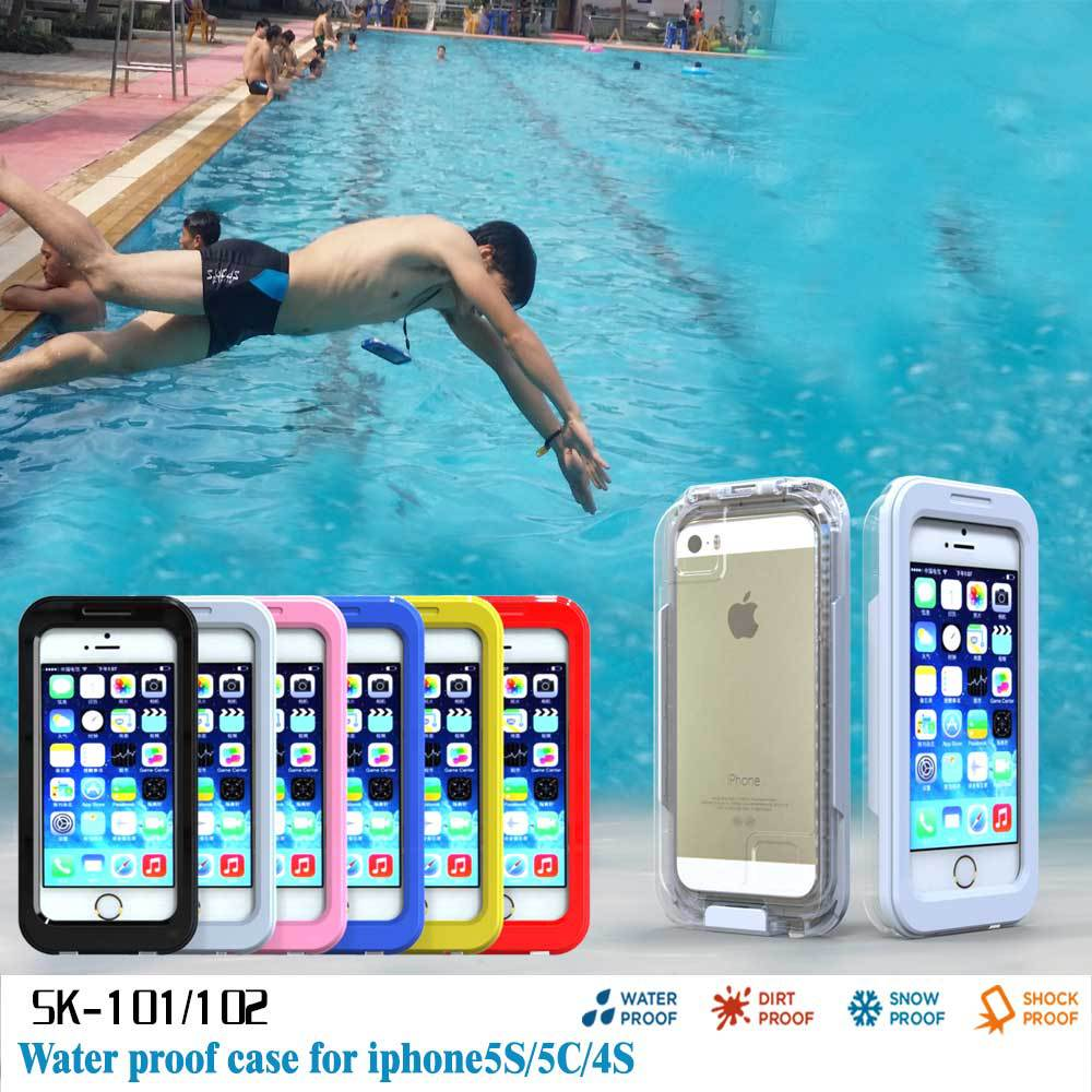 Slim Soft Silicone Waterproof Shockproof Durable Case For iPhone 5 5S 5C
