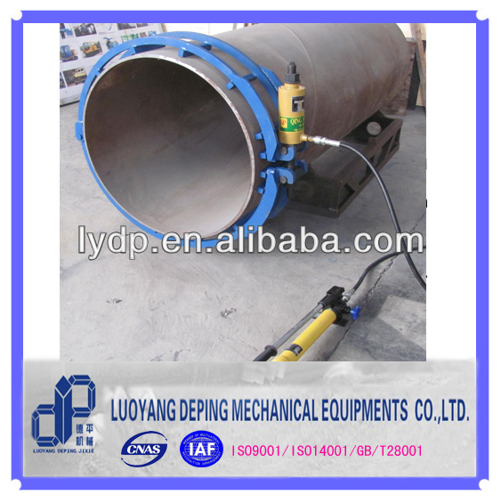 pipe welding use hydraulic clamping fixtures