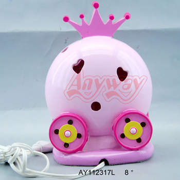 Chinese Supplier LED Kids Lamp Carriage Design Night Light