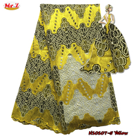 Mr.Z New York Wholesale African Lace Fabric With Stones N10107