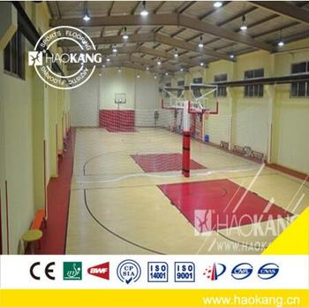 Basketball Court Sports Maple Wood Flooring