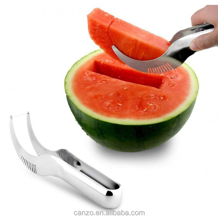 Amazon Hot Sale High Quality Stainless Steel Watermelon Corer Slicer Fruit & Vegetable Tools