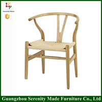 Replica design wooden dining room Y chair for restaurant