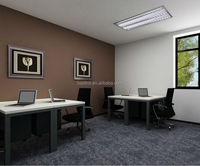 elegant and durable office furniture 2 person office desk design sale to America market