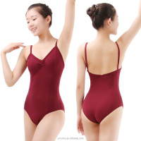 High Quality Pinch Front Sexy Camisole Ballet Dance Leotard Girls