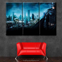 Movie Stars Batman 3Piece Printed Painting Canvas Art Printing Abstract Modern Painting for Living Room