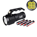 High Quality TrustFire S400 Rechargeable 3000 Lumens Powered Flashlight