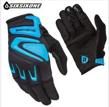 SIXSIXONE Brand 661 EVO MTB Gloves Off Road Racing Motocross glove DH Downhill Dirt Mountain Bike Bicycle Cycling glove
