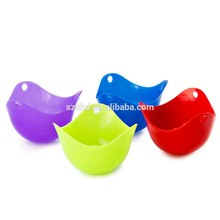 Microwave Oven Use Safe Silicone Egg Cooker Mould Silicone Egg Poacher
