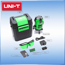 2 line 3 point green laser <strong>level</strong> with 360 fine-tuning knob UNI-T LM520G