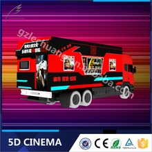 2015 Hot Sale Hydraulic/Electric Mobile Cinema 5D Truck