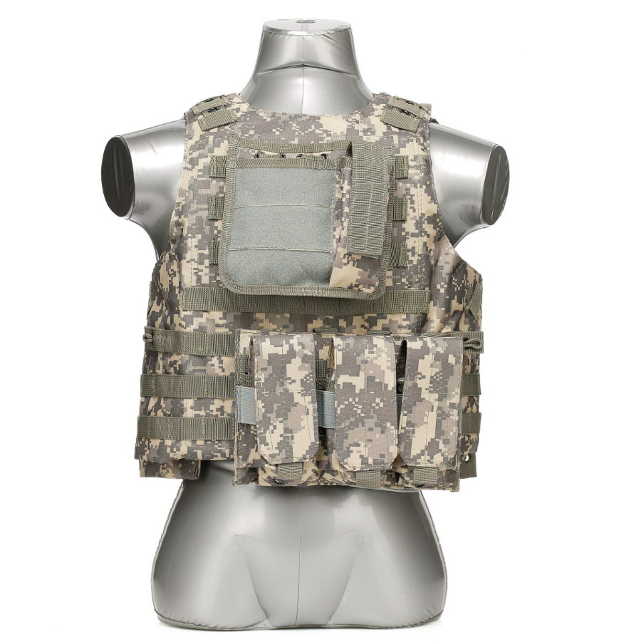 600D Tactical Molle Vest Wholesale Military Bulletproof Vest With PU Coating