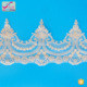XT0179 home textile embroidery lace trims for Turkey market