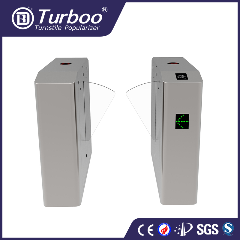 factory price flap barrier turnstile gate Door Access Control System with IR Sensor