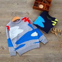 zm52209a 2016 stock kids clothes wholesale fashion wool sweater design for boys