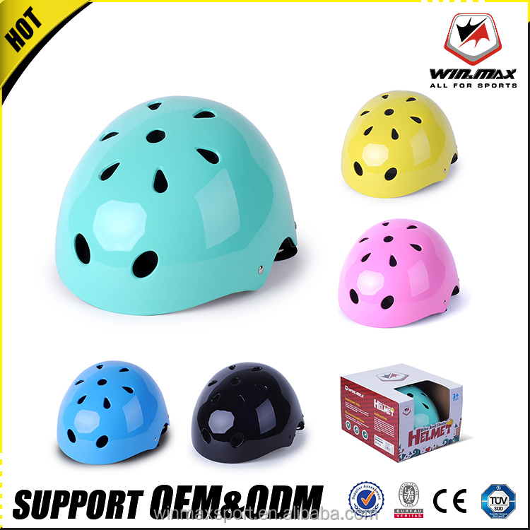 Fashionable latest ABS+EPS 11 air vents fancy bicycle sport helmet for kids