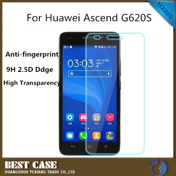 2015 New Products Tempered Glass Screen Protector For Huawei G620S